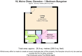 terraced bungalow to rent in wains close clevedon somerset bs21