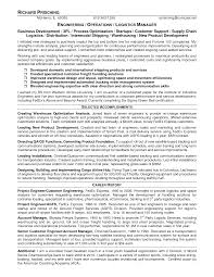 Resume Sample Logistics by 36 Job Winning Engineering Resume Samples That You Must See