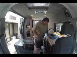 Motorhome Custom Interiors R V Interior Sprinter Buildout Youtube