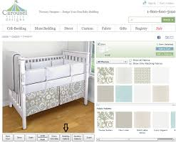 Crib Bed Skirt Measurements 14 Or 20 Crib Skirt What S The Difference Carousel Designs