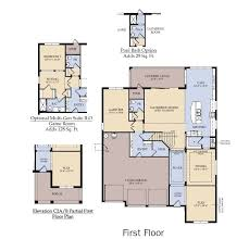 First Home Builders Of Florida Floor Plans Heatherton New Home Plan Winter Garden Fl Pulte Homes New