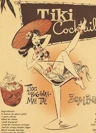 vintage cocktail posters mai tai poster tiki hut hula pinterest tiki bars tiki tiki