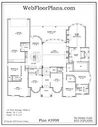 5 bedroom one story house plans five bedroom plan house plans floorplans best ideas only on 5 1