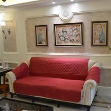 housse imperm ble canap housses de canapé fauteuil et salon violette pour la maison ebay