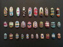 african tribal nail art nail art ideas