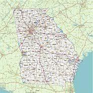 county map ga