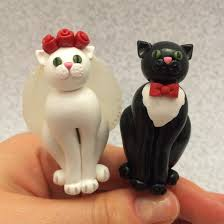 cat wedding cake toppers cat wedding cake toppers by noellewis on deviantart