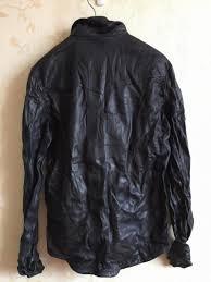 mens motorcycle leathers new men motorcycle leather shirt jacket black plus size xxxl