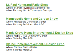 Home Improvement Design Expo Mpls Kg Landscape Management Home Facebook