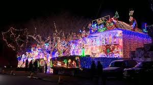 pictures of christmas lights on houses the house covered in 200 000 christmas lights cbbc newsround
