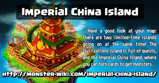 imperial china china island