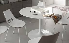 table ronde cuisine pied central table ronde design blanche pied central sur cdc design