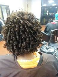 ththermal rods hairstyle rod set on transitional hair natural hairstyles pinterest