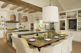 kitchen with island bench kitchen island bench transitional dining room eric design