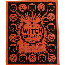 Party Halloween Decorations Old Witch U201cbrewsome U201d Stunts Game For Halloween Parties Halloween