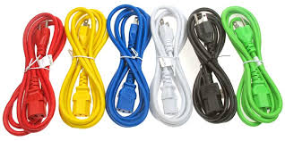 power cord 14 awg 3c sjt jacket c14 to c13 15amp colors u2013 cp