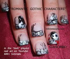 nail art design black bird nail blackbird nail black birds