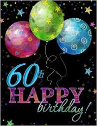60th birthday decorations 60th happy birthday guest book 60th birthday party supplies in