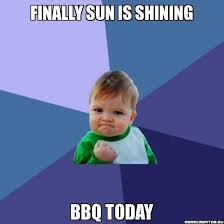 Memes Creator Online - finally sun is shining bbq today success kid meme creator