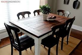 Amazing Diy Table Free Downloadable Plans by Farmhouse Table How To Make A Table Home Diy On Cut Out Keep