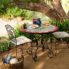 emilio mosaic dining table pier 1 imports