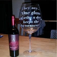 the world u0027s largest wine glass bigmouth inc