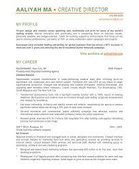 creative director resume sample free resumes tips
