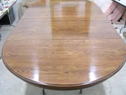 how to finish a table top with polyurethane and refinishing with the chair doctor