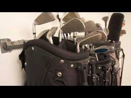 Garage Golf Bag Organizer - product review on golf bag rack garage organization products