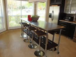 stainless steel kitchen work table island build stainless steel kitchen island with drawers railing stairs