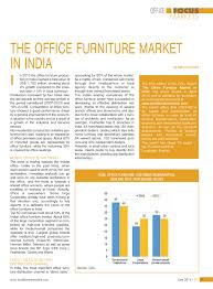 Office Tables In India The Office Furniture Market In India News By Csil