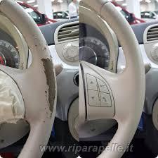 rivestimento volante in pelle riparazione volante auto a torino