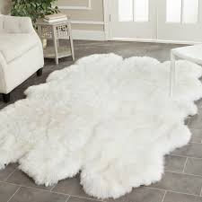 white fur area rug faux fur rug ikea white furry rug target kohls