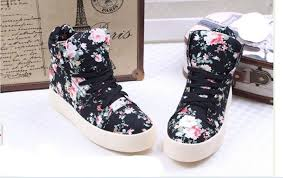 buy ankle boots malaysia fashion floral lace up ankle boots preppy s flats