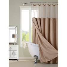 Hotel Shower Curtain With Snap In Liner Hotel Shower Curtain With Detachable Liner Free Shipping On