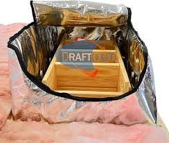draft out stair covers attic tents insulation