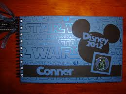 personalized autograph books personalized disney autograph book mickey wars 40 00 via
