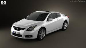 nissan altima coupe white 360 view of nissan altima coupe 2012 3d model hum3d store