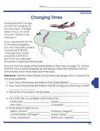 Oregon Time Zone Map by Geography Worksheets U2013 Wallpapercraft