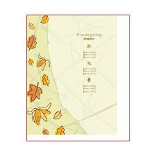 thanksgiving day menus great thanksgiving day menu templates to entice and enthrall your