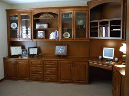 Computer Desk Bookcase Custom Home Office Cabinets Cabinet Wholesalers