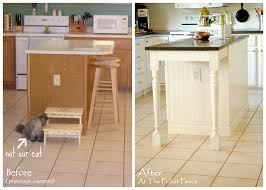 Kitchen Images With Islands by My Kitchen Island Transformation Part One At The Picket Fence