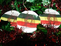 custom made bob marley one love christmas ornament by mark