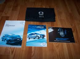 2012 mazda 3 owners manual mazda amazon com books