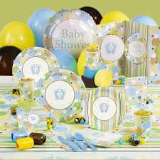 baby boy shower plates and napkins 6306