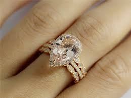 morganite pear engagement ring hey i found this really awesome etsy listing at https www etsy