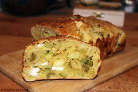 recette de cuisine salé recette de cake salé courgette olives et féta