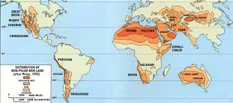 Kalahari Desert Map 100 World Map Of Deserts North Africa And The African