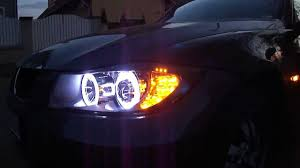 bmw e90 headlights bmw e90 e91 projector headlight 240 led angel eye led corner