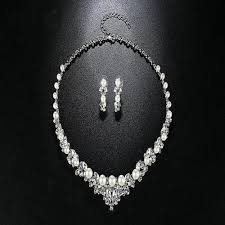 elegant pearl necklace images Elegant pearl necklace earrings dac collection jpg